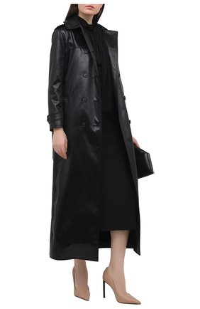 Женские кожаные туфли t-screw TOM FORD бежевого цвета, арт. W2325T-LCL002 | Фото 2
