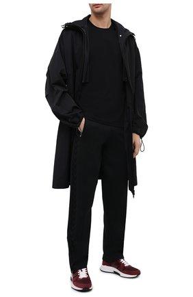 Мужские брюки BOTTEGA VENETA черного цвета, арт. 648998/V0C10   Фото 2