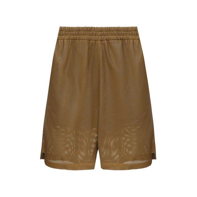 Кожаные шорты Bottega Veneta