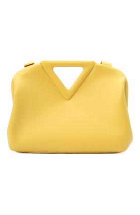 Женская сумка point BOTTEGA VENETA желтого цвета, арт. 652446/VCP40   Фото 1