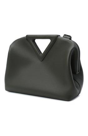 Женская сумка point BOTTEGA VENETA зеленого цвета, арт. 652446/VCP40   Фото 2