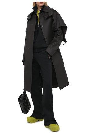 Женский кардиган BOTTEGA VENETA черного цвета, арт. 647513/V0C10   Фото 2