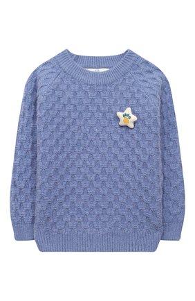 Детский пуловер ZHANNA & ANNA синего цвета, арт. ZAB03112020 | Фото 1