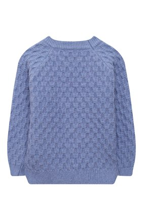 Детский пуловер ZHANNA & ANNA синего цвета, арт. ZAB03112020 | Фото 2