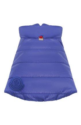 Накидка poldo dog couture MONCLER синего цвета, арт. F2-090-3G600-00-68950 | Фото 1
