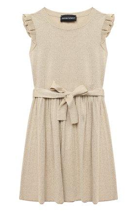 Платье с поясом | Фото №1
