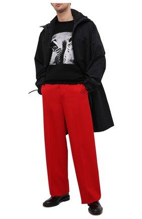 Мужские кожаные дерби VALENTINO черного цвета, арт. VY2S0C21/PMF   Фото 2