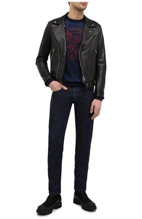 Мужская кожаная куртка TOM FORD черного цвета, арт. BW486/TFL827 | Фото 2