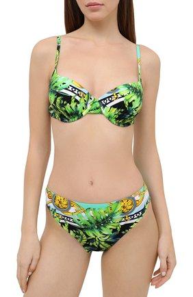 Женский раздельный купальник FURSTENBERG зеленого цвета, арт. BA 151/50229 | Фото 2