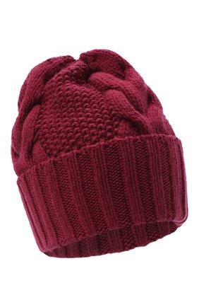 Женская шапка BILANCIONI бордового цвета, арт. 5153CM | Фото 1
