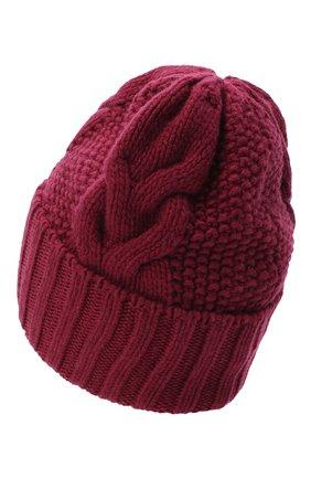 Женская шапка BILANCIONI бордового цвета, арт. 5153CM | Фото 2