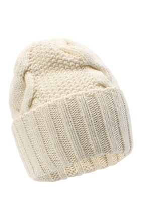 Женская шапка BILANCIONI белого цвета, арт. 5153CM | Фото 1