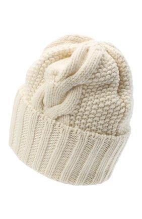 Женская шапка BILANCIONI белого цвета, арт. 5153CM | Фото 2