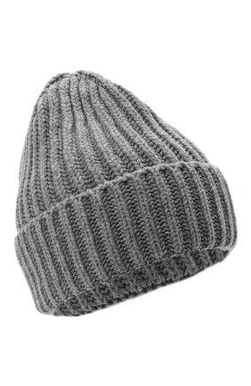 Женская шерстяная шапка BILANCIONI серого цвета, арт. 5120CM | Фото 1
