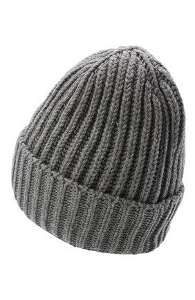 Женская шерстяная шапка BILANCIONI серого цвета, арт. 5120CM | Фото 2