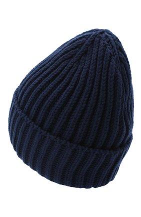 Женская шерстяная шапка BILANCIONI темно-синего цвета, арт. 5120CM | Фото 2