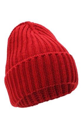 Женская шерстяная шапка BILANCIONI красного цвета, арт. 5120CM | Фото 1
