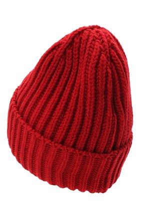 Женская шерстяная шапка BILANCIONI красного цвета, арт. 5120CM | Фото 2