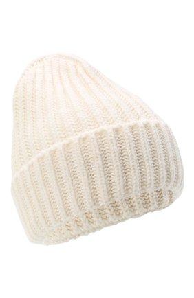 Женская шерстяная шапка BILANCIONI белого цвета, арт. 5120CM | Фото 1
