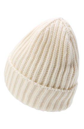 Женская шерстяная шапка BILANCIONI белого цвета, арт. 5120CM | Фото 2