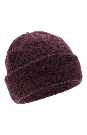 Женская шерстяная шапка BILANCIONI бордового цвета, арт. 4915CM | Фото 1