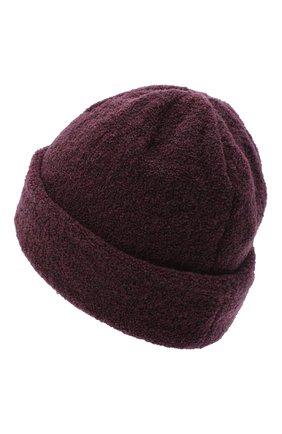 Женская шерстяная шапка BILANCIONI бордового цвета, арт. 4915CM | Фото 2