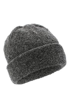 Женская шерстяная шапка BILANCIONI темно-серого цвета, арт. 4915CM | Фото 1