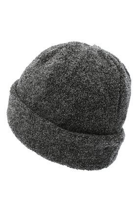 Женская шерстяная шапка BILANCIONI темно-серого цвета, арт. 4915CM | Фото 2