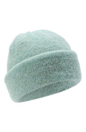 Женская шерстяная шапка BILANCIONI светло-зеленого цвета, арт. 4915CM | Фото 1