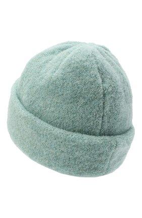 Женская шерстяная шапка BILANCIONI светло-зеленого цвета, арт. 4915CM | Фото 2