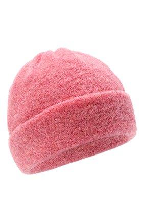 Женская шерстяная шапка BILANCIONI розового цвета, арт. 4915CM | Фото 1