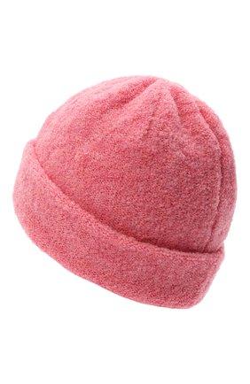 Женская шерстяная шапка BILANCIONI розового цвета, арт. 4915CM | Фото 2