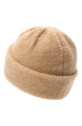 Женская шерстяная шапка BILANCIONI светло-бежевого цвета, арт. 4915CM   Фото 2