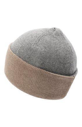 Женская шапка BILANCIONI серого цвета, арт. 4913CM   Фото 2