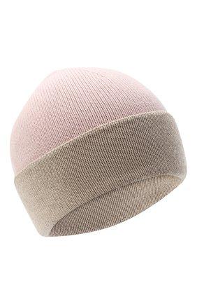 Женская шапка BILANCIONI розового цвета, арт. 4913CM   Фото 1