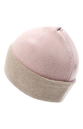 Женская шапка BILANCIONI розового цвета, арт. 4913CM   Фото 2