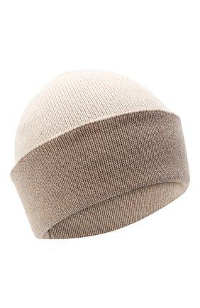 Женская шапка BILANCIONI бежевого цвета, арт. 4913CM   Фото 1