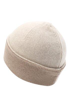 Женская шапка BILANCIONI бежевого цвета, арт. 4913CM   Фото 2