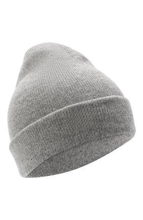Женская шапка BILANCIONI серого цвета, арт. 4911CM   Фото 1