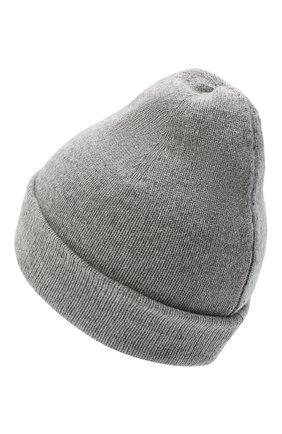 Женская шапка BILANCIONI серого цвета, арт. 4911CM   Фото 2