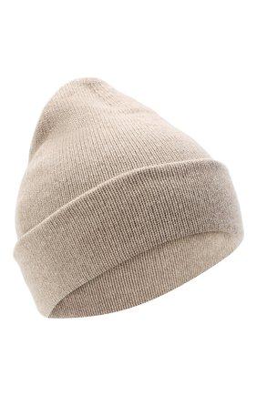 Женская шапка BILANCIONI светло-бежевого цвета, арт. 4911CM   Фото 1
