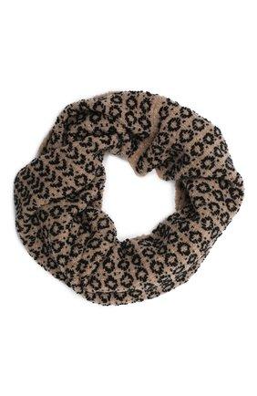 Женский шарф-снуд BILANCIONI бежевого цвета, арт. 4910SM   Фото 1