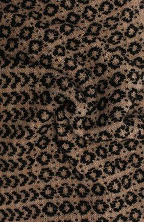 Женский шарф-снуд BILANCIONI бежевого цвета, арт. 4910SM   Фото 2