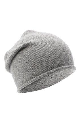 Женская шапка BILANCIONI серого цвета, арт. 4909CM   Фото 1