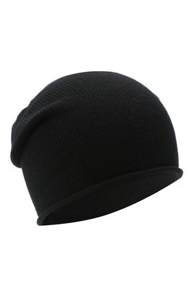 Женская шапка BILANCIONI черного цвета, арт. 4909CM   Фото 1