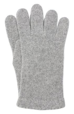 Женские перчатки BILANCIONI серого цвета, арт. 4908GU   Фото 1