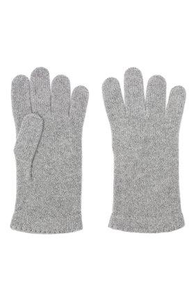 Женские перчатки BILANCIONI серого цвета, арт. 4908GU   Фото 2