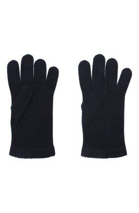 Женские перчатки BILANCIONI темно-синего цвета, арт. 4908GU   Фото 2