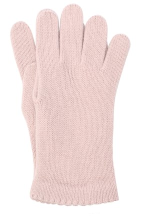 Женские перчатки BILANCIONI розового цвета, арт. 4908GU   Фото 1
