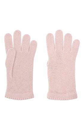Женские перчатки BILANCIONI розового цвета, арт. 4908GU   Фото 2
